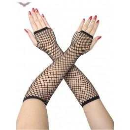 Dlouhé rukavice bez prstů