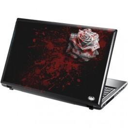 WHITE ROSE samolepka na notebook