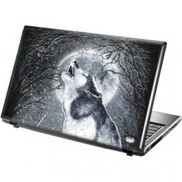 WHITE WOLF samolepka na notebook