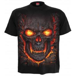 Tričko Skull Lava