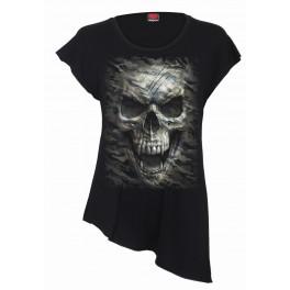 Tričko Camo Skull