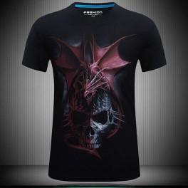 Tričko Dragon Skull