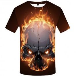 Tričko Fire Skull
